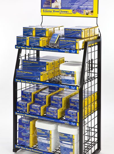 Point Of Sale Display Stand Design