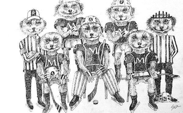 Ice Hockey Meerkats